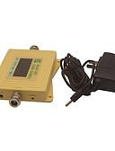 olcso Sportos óra-mini intelligens lcd kijelző cdma980 850mhz mobiltelefon jelerősítő repeater sárga