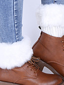 cheap Leggings-Women's Medium Stockings, Acrylic Animal Print 1set Beige Navy Blue Wine Khaki Light gray