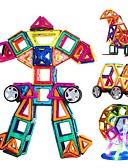 お買い得  レディースコート&トレンチコート-マグネットブロック ブロックおもちゃ 新デザイン DIY 楽しい 108pcs クラシック 子供用 女の子 ギフト
