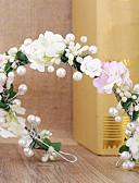 preiswerte Parykopfbedeckungen-Tüll / Seide / Aleación Stirnbänder mit Feder 1 Hochzeit / Geburtstag / Veranstaltung / Fest Kopfschmuck