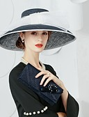 cheap Prom Dresses-Flax Hats with 1 Wedding / Party / Evening Headpiece