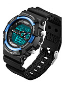 cheap Sport Watches-Men's / Women's Sport Watch / Military Watch / Smartwatch Chinese Alarm / Calendar / date / day / Chronograph Silicone Band Charm / Luxury / Casual Black / Slide Rule / Water Resistant / Water Proof