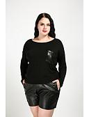 halpa Naisten yläosat-Naisten Yhtenäinen Katutyyli Pluskoko - T-paita