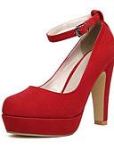 abordables Vestidos de Noche-Mujer Zapatos Cuero Nobuck Primavera / Otoño Pump Básico Tacones Tacón Stiletto Negro / Azul / Wine