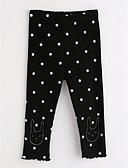 tanie Spodnie i getry-Brzdąc Dla dziewczynek Groszki Bawełna Spodnie