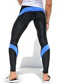 cheap Panties-Men's Legging / Trousers / Bodysuits Skinny / Slim / Sweatpants Pants - Patchwork Patchwork / Sports