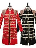 זול שמלות לילדות פרחים-נסיך תחפושות קוספליי בגדי ריקוד גברים חג המולד האלווין (ליל כל הקדושים) קרנבל ראש השנה פסטיבל / חג תחפושות ליל כל הקדושים שחור אדום צבע