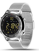 cheap Sport Watches-Smartwatch EX18 for iOS / Android Calories Burned / Long Standby / Water Resistant / Water Proof / Exercise Record / Distance Tracking Stopwatch / Pedometer / Call Reminder / Activity Tracker / Sleep