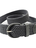 cheap Women's Belt-Women's Herringbone Alloy Skinny Belt - Solid Colored Fashion / PU