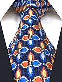 cheap Men's Ties & Bow Ties-Men's Work Rayon Necktie - Floral Rainbow Jacquard Basic