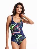 tanie Bikini i odzież kąpielowa 2017-Damskie Jednoczęściowy - Nadruk, Geometric Shape