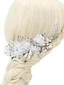preiswerte Hochzeit Schals-Chiffon / Krystall / Künstliche Perle Haarkämme mit 1pc Hochzeit / Besondere Anlässe Kopfschmuck