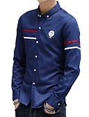 ieftine Maieu & Tricouri Bărbați-Bărbați Cămașă Bumbac Activ Șic Stradă - Mată lolita Imprimeu