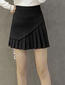 preiswerte Damen Röcke-Damen Niedlich A-Linie Röcke - Solide