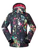 cheap Prom Dresses-GSOU SNOW Women's Ski Jacket Waterproof Windproof Warm Skiing Ski / Snowboard Eco-friendly Polyester Silk Cloth Down Jacket Ski Wear / Winter