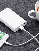 Недорогие Внешние аккумуляторы-waza 10000 mah для батареи внешнего блока питания 5 v для 2.4 a для защиты от зарядного устройства аккумулятора / защиты от перегрузки / защиты от перегрузки