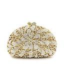 preiswerte Damen Schals-Damen Taschen Aleación Abendtasche Kristall Verzierung / Blume Geometrisch Gold / Hochzeitstaschen / Hochzeitstaschen