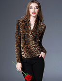 cheap Men's Sweaters & Cardigans-Women's Vintage / Street chic / Sophisticated T-shirt Print V Neck