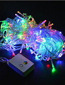 baratos Anáguas para Vestidos de Noiva-20m Cordões de Luzes 200SMD LEDs Branco Quente / RGB / Branco Impermeável / Cores Variáveis 220 V / IP44
