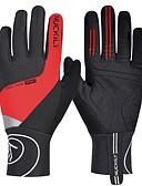 preiswerte Triathlon Bekleidung-Nuckily Sporthandschuhe Touch- Handschuhe Fahrradhandschuhe Winterhandschuhe warm halten Reflektierend Windundurchlässig Atmungsaktiv