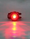 رخيصةأون ملابس سباحة رجالي-ضوء الدراجة الخلفي / أضواء السلامة / أضواء الذيل LED اضواء الدراجة LED ركوب الدراجة ألعاب مضيئة, وسائط متعددة الليثيوم 180 lm المدمج في بطارية ليثيوم بالطاقة أحمر Camping / Hiking / Caving / أخضر