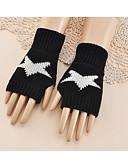 ieftine Eșarfe la Modă-Pentru femei Galaxie Lungime Încheietură Jumătate de Deget Mânuși