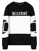 cheap Men's Tees & Tank Tops-Men's Plus Size Long Sleeve Sweatshirt - Solid Colored Knitted Round Neck White XXL / Fall