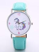 cheap Quartz Watches-Men's / Women's Wrist Watch Chinese N / A PU Band Casual / Fashion / Elegant Black / Orange / Green / Jinli 377