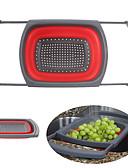 povoljno Nježna čipka-sklopivi silikonski cjedilo sklopivi cjedilo voće povrće oprati kuhinjski alati