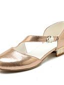 baratos Vestidos Estampados-Mulheres Sapatos Glitter / Paetês / Sintético Primavera / Verão Plataforma Básica / Solados com Luzes Saltos Salto Alto de Cristal Ponta