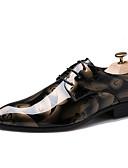 halpa Sukat ja sukkahousut-Miesten Comfort-kengät Oxford Kevät / Syksy Oxford-kengät Laivaston sininen / Hopea / Punainen / Juhlat
