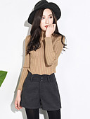 cheap Socks & Hosiery-Women's Cotton Shorts Pants - Solid Colored / Fall / Winter