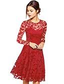 זול שמלות נשים-בגדי ריקוד נשים יום יומי מכנסיים - אחיד מותניים גבוהים שחור