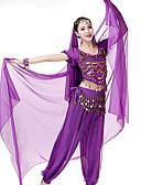 Χαμηλού Κόστους Αξεσουάρ Χορού-Χορός της κοιλιάς Γυναικεία Επίδοση Spandex Πέπλο