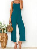 cheap Women's Jumpsuits & Rompers-Women's Club Boho Jumpsuit - Solid Color Strap