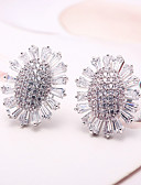 cheap Wedding Dresses-Women's Stud Earrings - Silver For Wedding Party