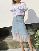 tanie Damska spódnica-Damskie Na co dzień Bodycon Spódnice Jendolity kolor