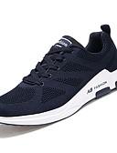 ieftine Tricou Bărbați-Pantofi Plasă de Aerisire PU Primăvară Toamnă Confortabili Adidași de Atletism pentru De Atletism Casual Negru Gri Albastru