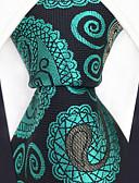 זול עניבות ועניבות פרפר לגברים-גברים של המפלגה עבודה rayon עניבה - צבע לחסום paisley jacquard