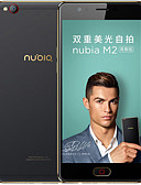 "tanie Zegarki mechaniczne-NUBIA M2 Lite 5.5 in "" Smartfon 4G (3 GB + 64GB 13 mp MediaTek MT6750 3000 mAh mAh) / 1280x720"