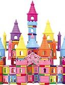 זול טרנינגים וקפוצ'ונים לגברים-מקלות מגנטיים אבני בניין 660 pcs טירה Fun & Whimsical בנים בנות צעצועים מתנות