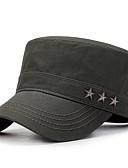 billige Hettegensere og gensere til herrer-Unisex Baseballcaps Ensfarget Bomull