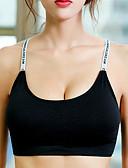 זול חזיות-נשים מגע של התרגשות חזיות ספורט ללא ברזל Miseczka 3/4 חזיות - אותיות