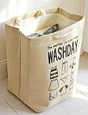 זול מכנסיים ושורטים לגברים-כותנה מלבן רב שימושי בית אִרגוּן, 1pc תיק וסל כביסה