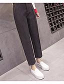 cheap Women's Tanks-Women's Cotton Harem Loose Pants - Solid Colored Low Rise