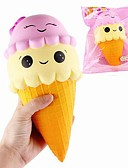 cheap Fashion Hats-LT.Squishies Squeeze Toy / Sensory Toy / Stress Reliever Food&Drink / Ice Cream Relieves ADD, ADHD, Anxiety, Autism / Office Desk Toys /