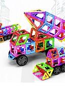 abordables Biquinis y Bañadores para Mujer-Bloques magnéticos Bloques de Construcción 198 pcs Vehículos Coche Transformable Chico Chica Juguet Regalo