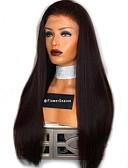 hesapli Lüks Saatler-Gerçek Saç Tutkalsız Dantel Ön Ön Dantel Peruk Bob Saç Kesimi Orta kısım stil Düz Brezilya Saçı Düz Peruk % 150 Saç yoğunluğu 8-22 inç Bebek Saçlı Doğal saç çizgisi 100% bakire işlenmemiş Ön Mızraplı