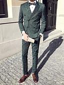 זול טישרטים לגופיות לגברים-בגדי ריקוד גברים פול תלתן שחור XL XXL XXXL חליפות פעיל / סגנון רחוב / מתוחכם דפוס / שרוול ארוך / אביב / סתיו