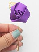 preiswerte Kleider für die Blumenmädchen-Hochzeitsblumen Knopflochblumen Hochzeit Veranstaltung / Fest Satin 9 cm ca.